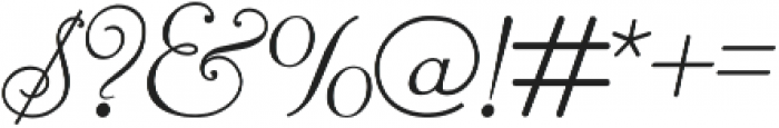 Reliant otf (400) Font OTHER CHARS