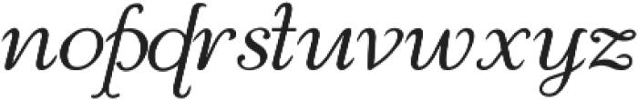 Reliant otf (400) Font LOWERCASE