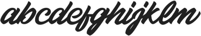 Relish otf (400) Font LOWERCASE