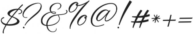 Rellista Script Regular otf (400) Font OTHER CHARS