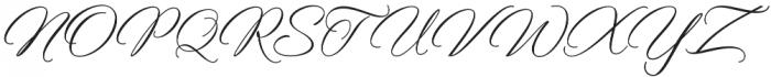 Rellista Script Regular otf (400) Font UPPERCASE
