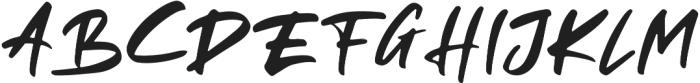 Rellive otf (400) Font UPPERCASE