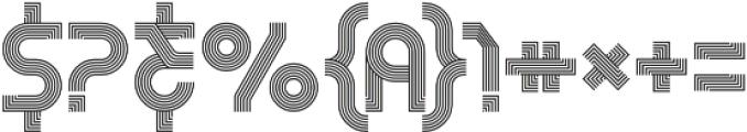 RemacoRegular otf (400) Font OTHER CHARS