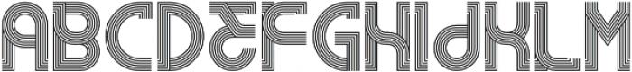 RemacoRegular otf (400) Font LOWERCASE