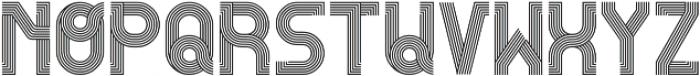 RemacoRegular ttf (400) Font LOWERCASE