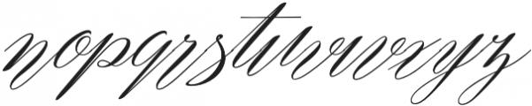 Remember Regular otf (400) Font LOWERCASE