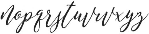 Remember Script otf (400) Font LOWERCASE