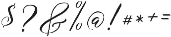 Remember Script ttf (400) Font OTHER CHARS