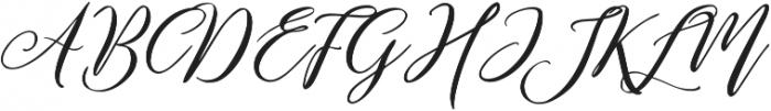 Remember Script ttf (400) Font UPPERCASE