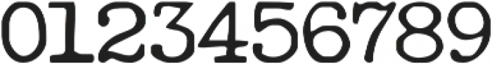 RemingtonWeather Regular otf (400) Font OTHER CHARS