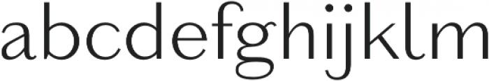 Reminisce Light otf (300) Font LOWERCASE