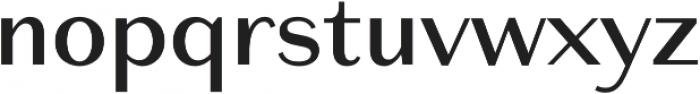 Reminisce Medium otf (500) Font LOWERCASE