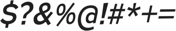 Remissis Regular Italic otf (400) Font OTHER CHARS