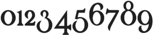 Renaissance Garden Regular 1 otf (400) Font OTHER CHARS