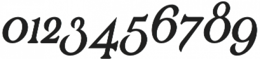 Renaissance Garden otf (400) Font OTHER CHARS
