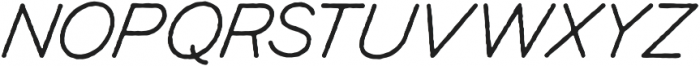 Renaissance otf (400) Font UPPERCASE