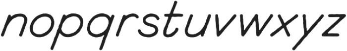 Renaissance otf (400) Font LOWERCASE
