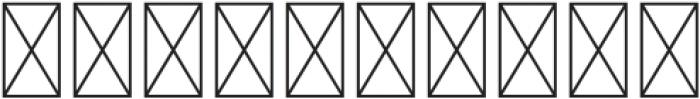 RenaissanceInitial Dots Black otf (900) Font OTHER CHARS