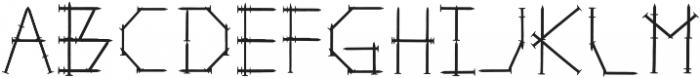 Repair (clean) Regular otf (400) Font LOWERCASE