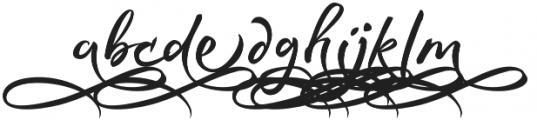 Rephone Alternate Two otf (400) Font LOWERCASE