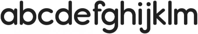 Report SemiBold otf (600) Font LOWERCASE
