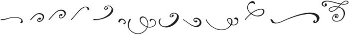 Reshuffle Swash otf (400) Font UPPERCASE
