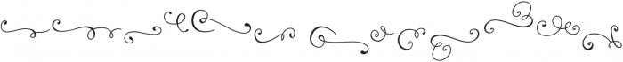 Reshuffle Swash otf (400) Font LOWERCASE