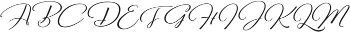 Reshuffle  otf (400) Font UPPERCASE