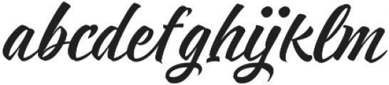 Respect otf (400) Font LOWERCASE