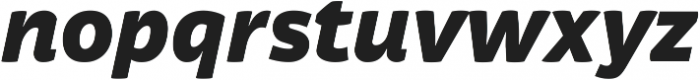 Respublika FY Black Italic ttf (900) Font LOWERCASE