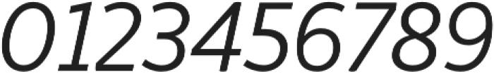 Respublika FY Light Italic otf (300) Font OTHER CHARS