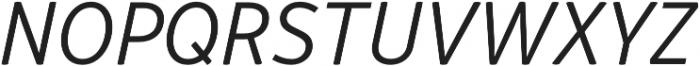 Respublika FY Light Italic otf (300) Font UPPERCASE