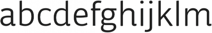 Respublika FY Light ttf (300) Font LOWERCASE