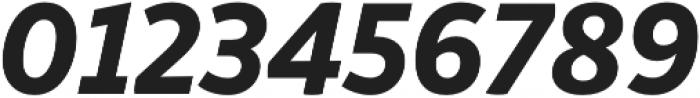 Respublika FY XBold Italic otf (700) Font OTHER CHARS