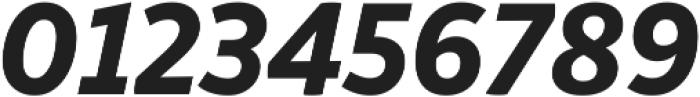 Respublika FY XBold Italic ttf (700) Font OTHER CHARS
