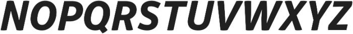 Respublika FY XBold Italic ttf (700) Font UPPERCASE