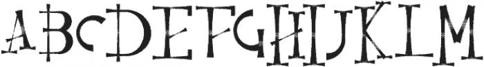Resquro Halloween Font otf (400) Font UPPERCASE