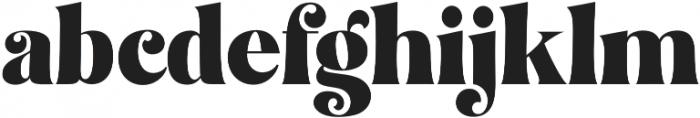 Restgold Regular otf (400) Font LOWERCASE