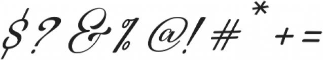 Restiany Regular ttf (400) Font OTHER CHARS