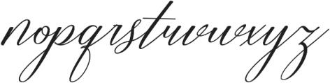 Restiany Regular ttf (400) Font LOWERCASE