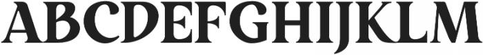 Restora ExtraBold otf (700) Font UPPERCASE
