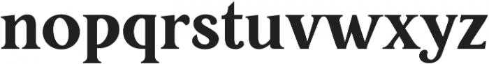 Restora ExtraBold otf (700) Font LOWERCASE