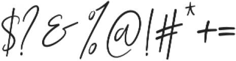 Restricta otf (400) Font OTHER CHARS
