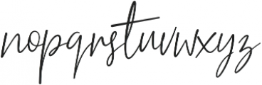 Restricta otf (400) Font LOWERCASE