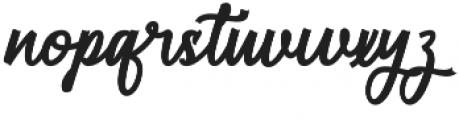 Restyla Script Regular otf (400) Font LOWERCASE