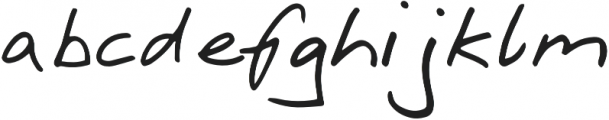 RetoScript otf (400) Font LOWERCASE