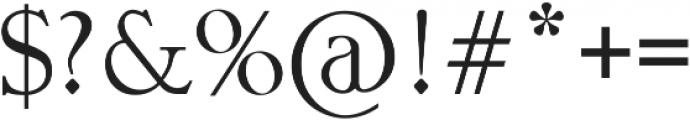 Retorica otf (400) Font OTHER CHARS