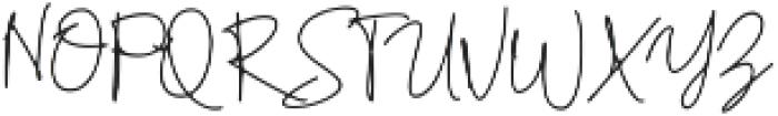 Retorica otf (400) Font UPPERCASE