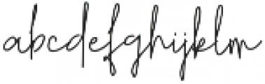 Retorica otf (400) Font LOWERCASE