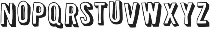 Retro Board otf (400) Font LOWERCASE